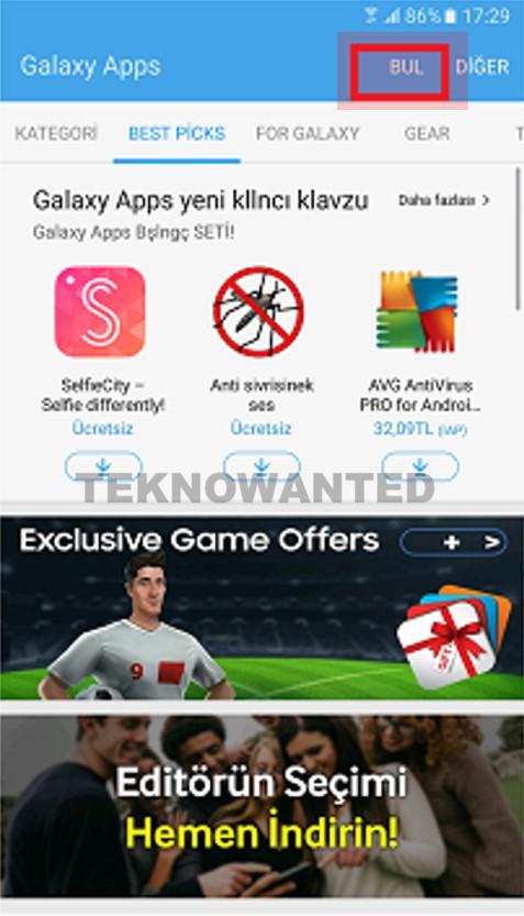 Apps ile uygulama yükleme (2)